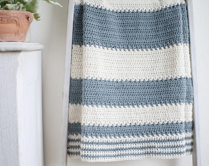 Spring Charms Baby Blanket Pattern / Baby Afghan Pattern / DIY ...