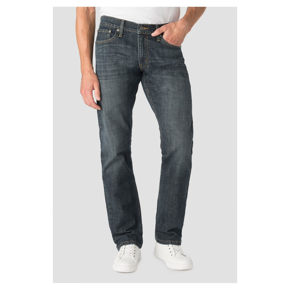 Denizen from Levi's Men's 218 Straight Fit Jeans Grizzly