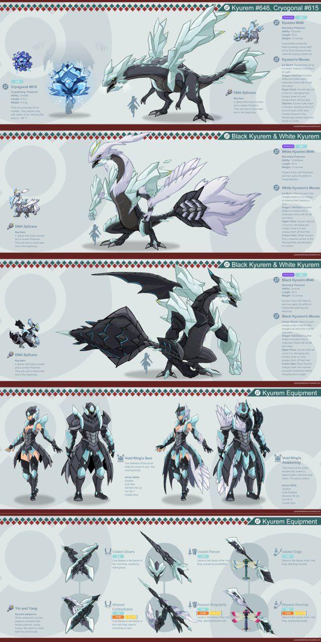 pokémon x monster hunter pokémon pinterest monster hunter