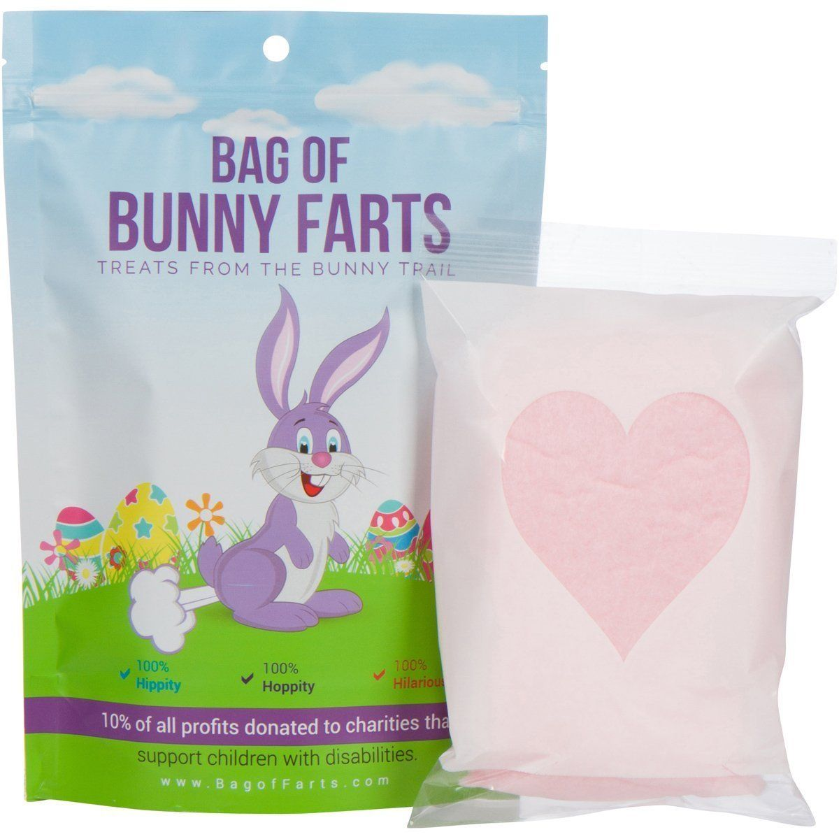Bag of bunny farts cotton candy funny unique easter basket gift bag of bunny farts cotton candy funny unique easter basket gift for kids parents negle Image collections