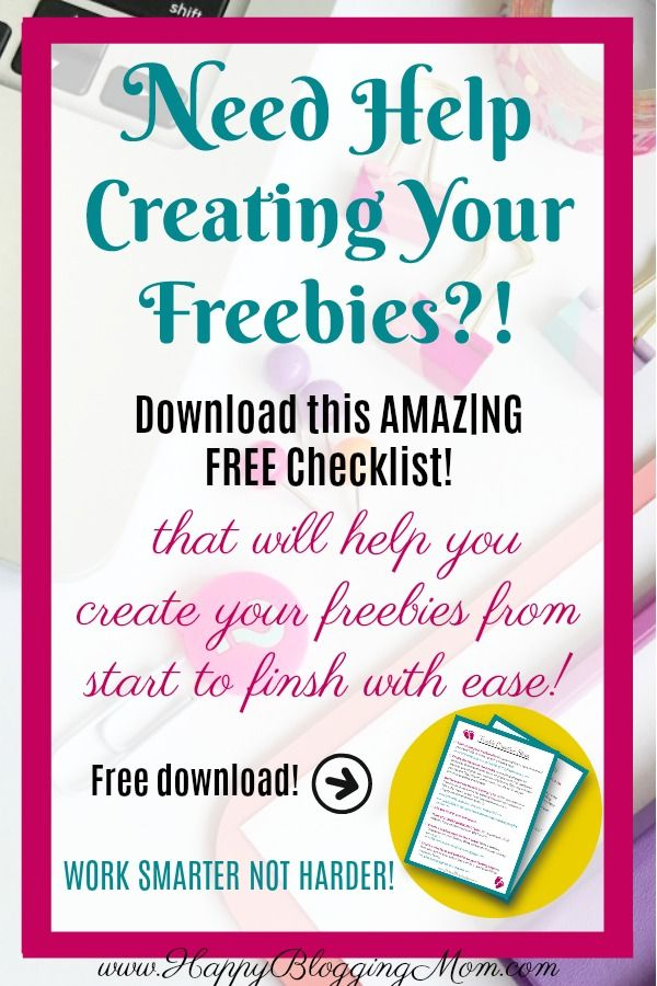 Freebie Creation Steps  Free Checklist  Lead Magnet Magnets And