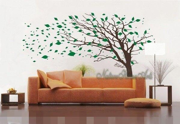 Dawanda · Wandtattoo Wanddekoration   Wandtattoo Baum ...