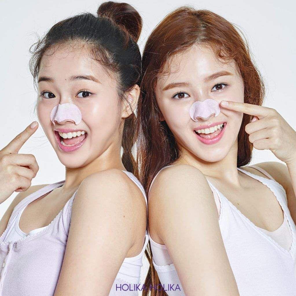 Kriesha Chu And Nancy Mcdonie Momoland For Holika Holika Asian Makeup Korean Beauty Kpop Girls