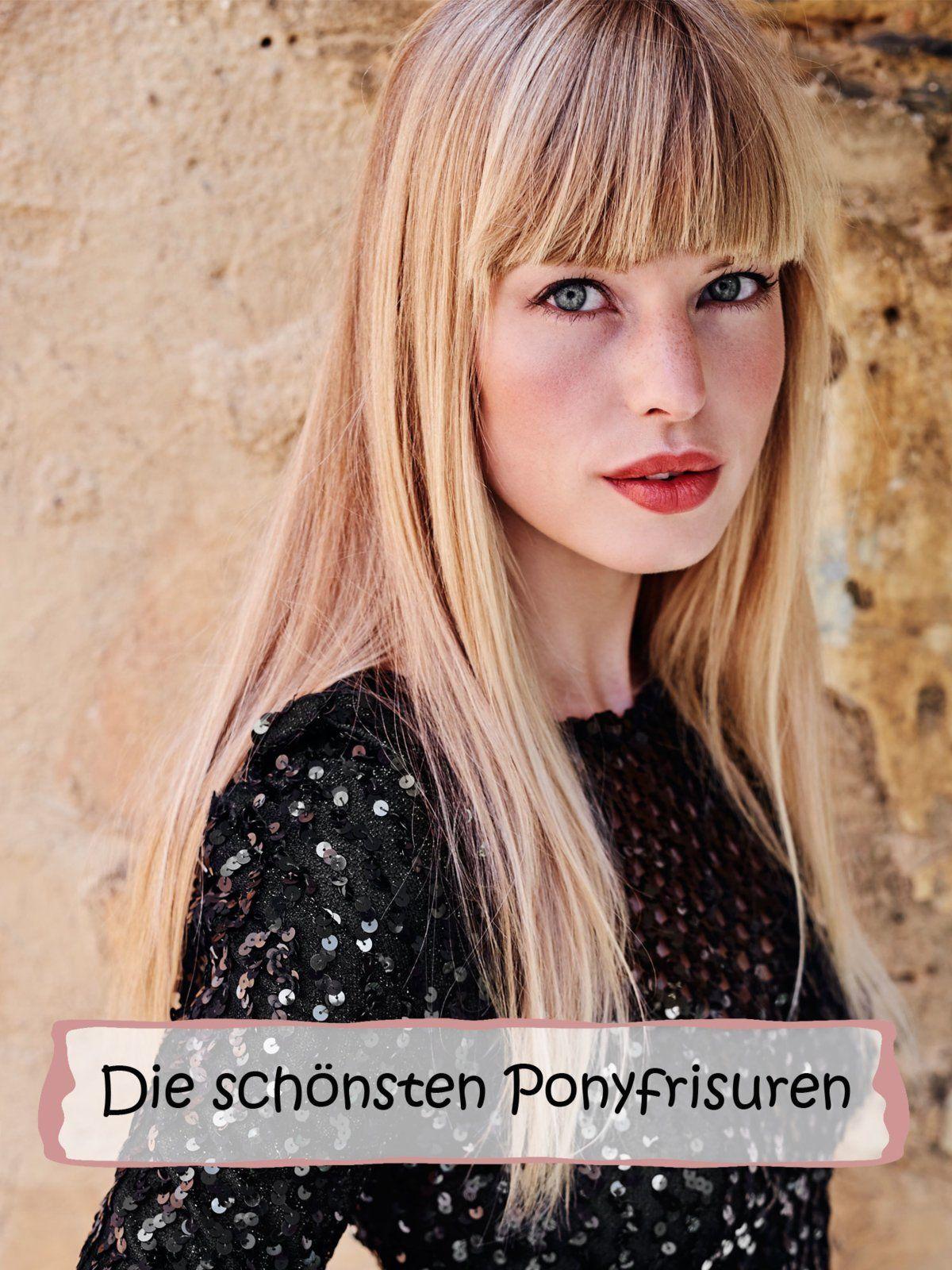 Frisuren Mit Pony Die Schönsten Ponyfrisuren Hair Hair Hair