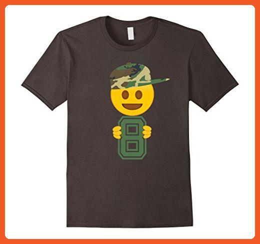 Mens 8th Birthday Emoji T Shirt Gift For 8 Year Old Boys XL Asphalt