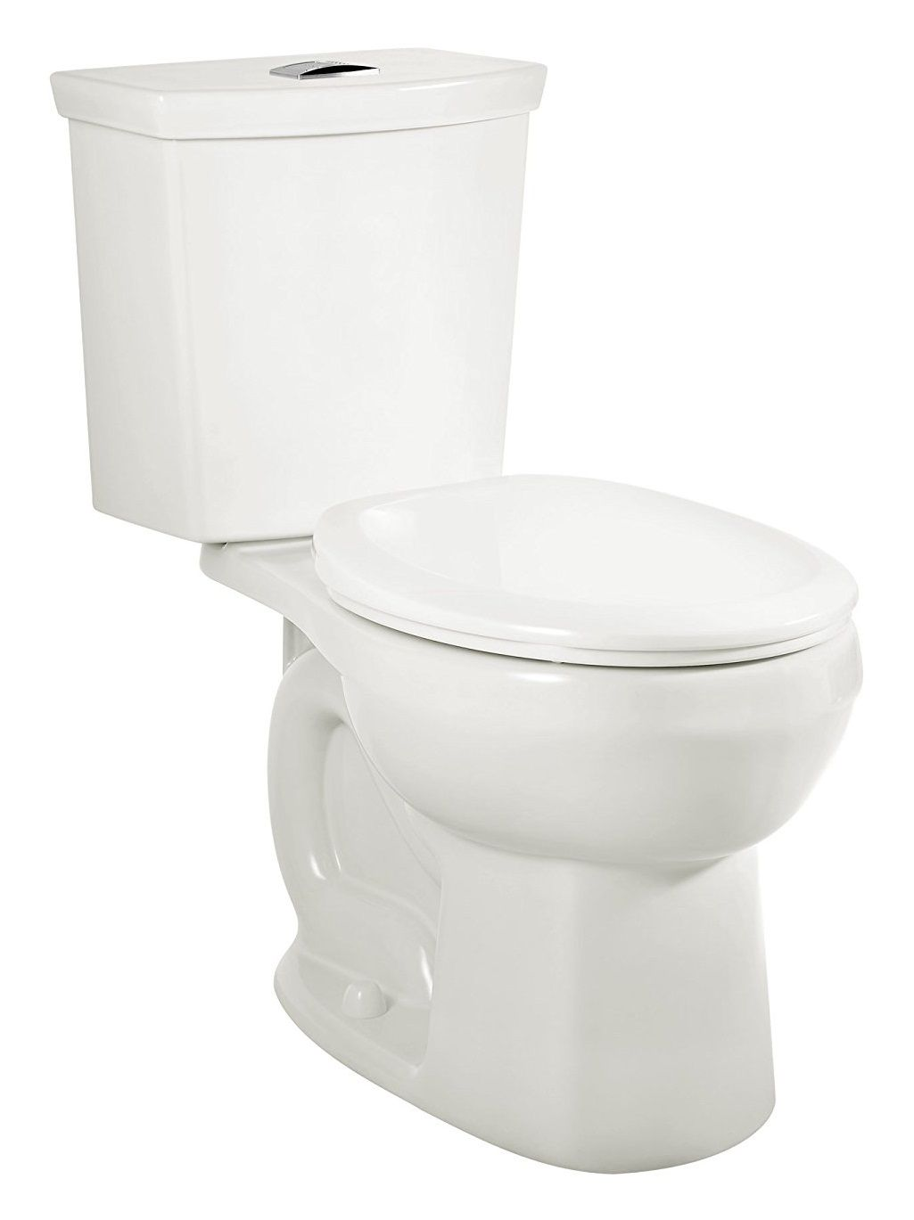 American Standard 2889518.020 H2Option Siphonic Dual Flush Normal Height Round Front Toilet