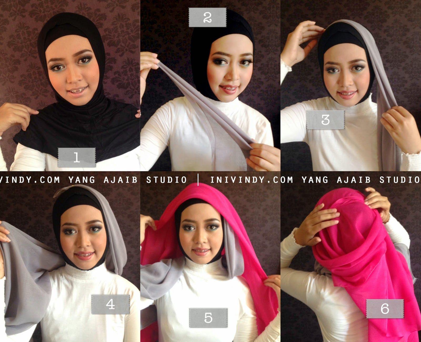 27 Galery Tutorial Hijab Wisuda Inivindy Biking Ngakak Tutorial