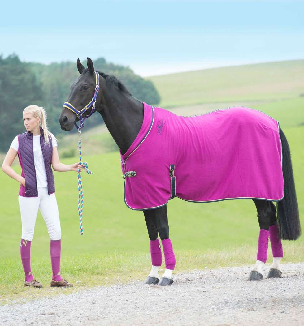Stand out rug horse manta pink rosado cavalos for Accesorios para caballos