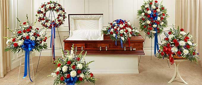 Military Funeral Flowers Funeral Flowers Funeral Flower Arrangements Fresh Flowers Arrangements