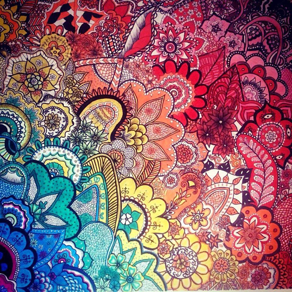 Zentangling: Color me Zentangled! | ZENTANGLES | Pinterest ...