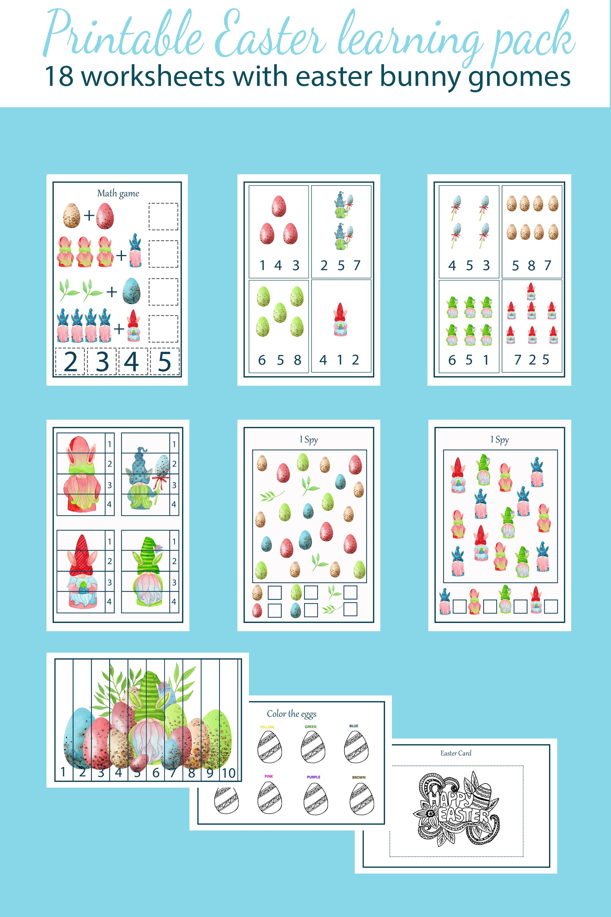 10 Preschool Number Learning Worksheets 6 Coloring Style