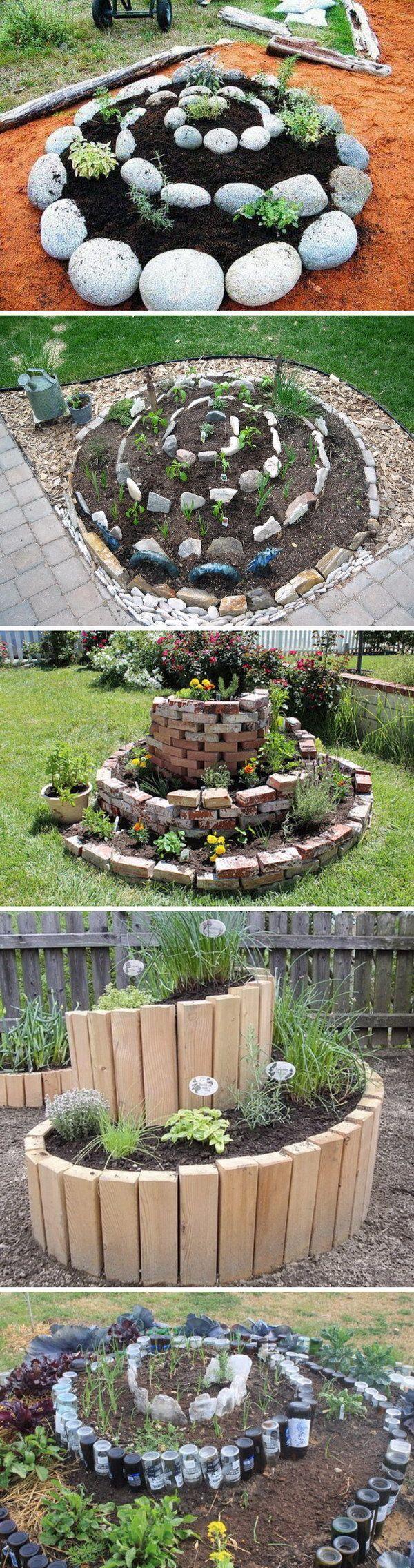 30+ Raised Garden Bed Ideas Garden projects, Spiral