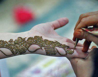 Apply Mehndi Hands : How to apply mehndi on hands: designs 2014 pinterest