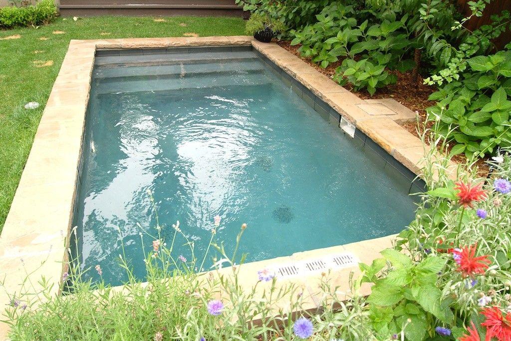 Plunge Pool, Small Pool and Small Backyard Pool Design and ...