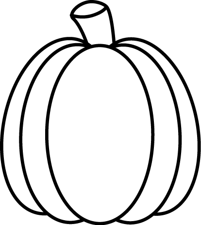 Black and White Autumn Pumpkin | Halloween | Pumpkin ...