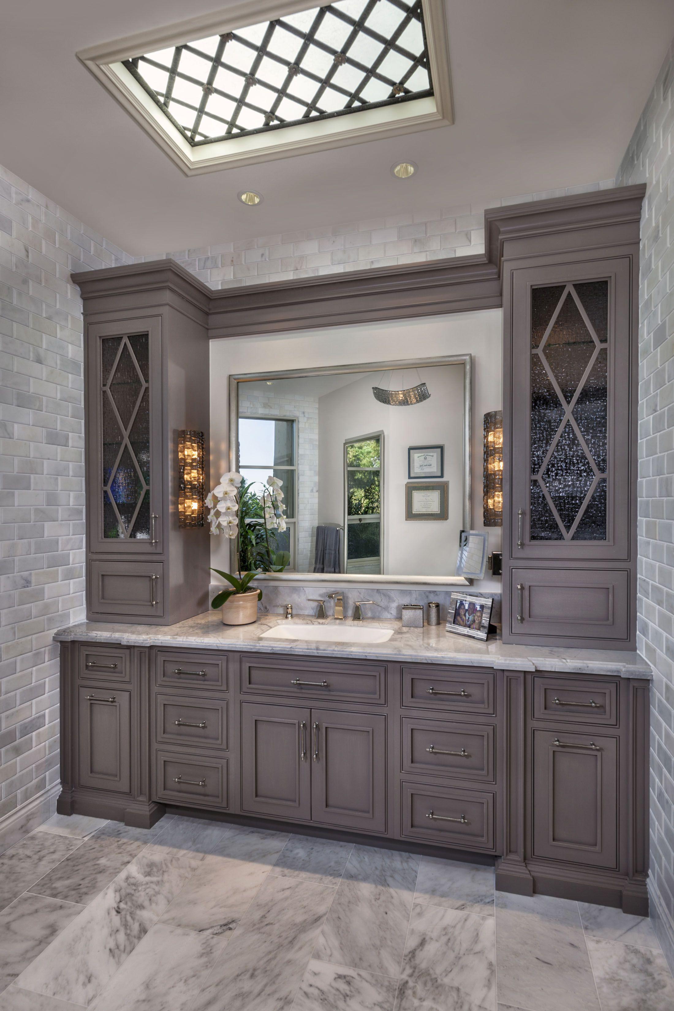 Custom Master Bath Cabinetry By Habersham | Habersham | House Design