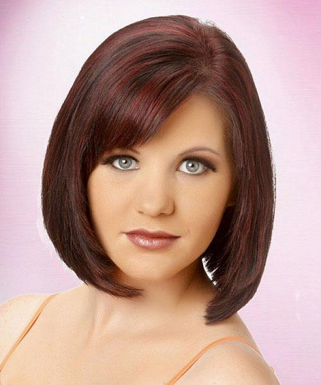 short weave bob hairstyles with side bangs for straight