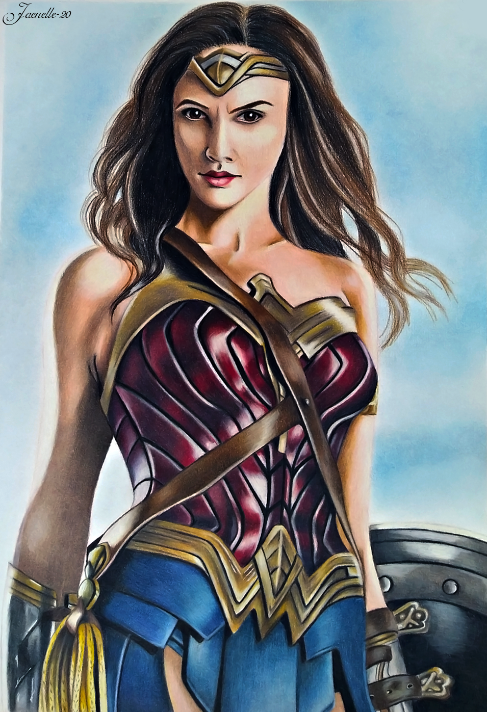 Wonder Woman By Jaenelle 20 On Deviantart Wonder Woman Wonder Manga Studio