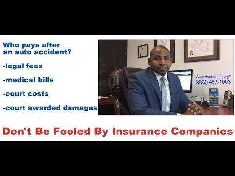 Who Pays After An Accident The Insurance Company