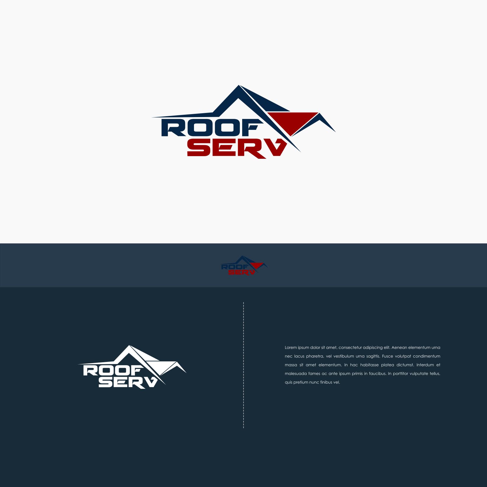 Concept Logo For Roofserv 99designs Di 2020