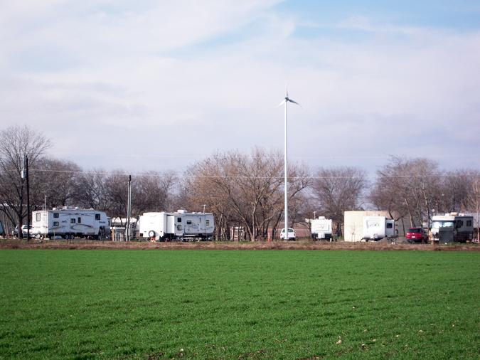 Quiet Texas Rv Park At Hondo Texas United States