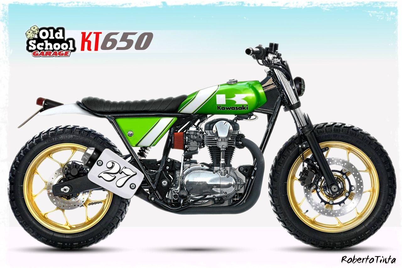 Kawasaki W Scrambler идеи изображения мотоцикла