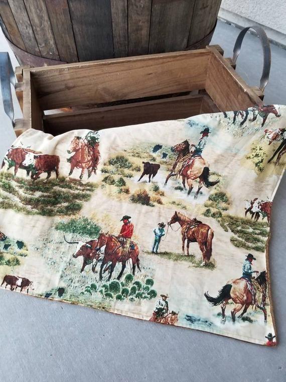 Baby Boy Western Nursery Rodeo Cowboy little cowboy baby shower little buckaroo country cows and horses minky blanket #babyboyblankets