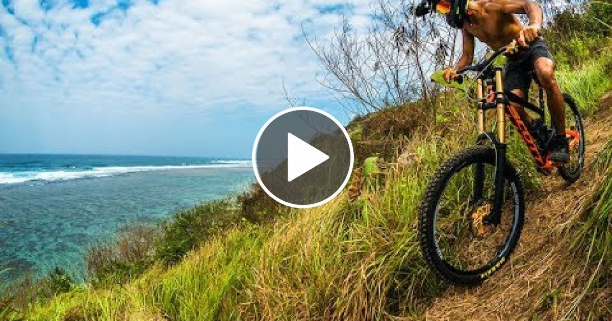 Nigel S Biggest Vert Drop In Trending Music Mountain Biking