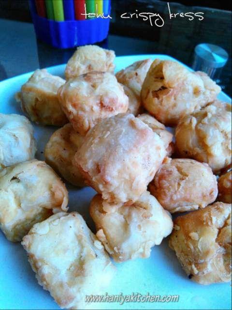 Resep Tahu Crispy Kress Renyah Resep Tahu Makanan Dan Minuman Resep
