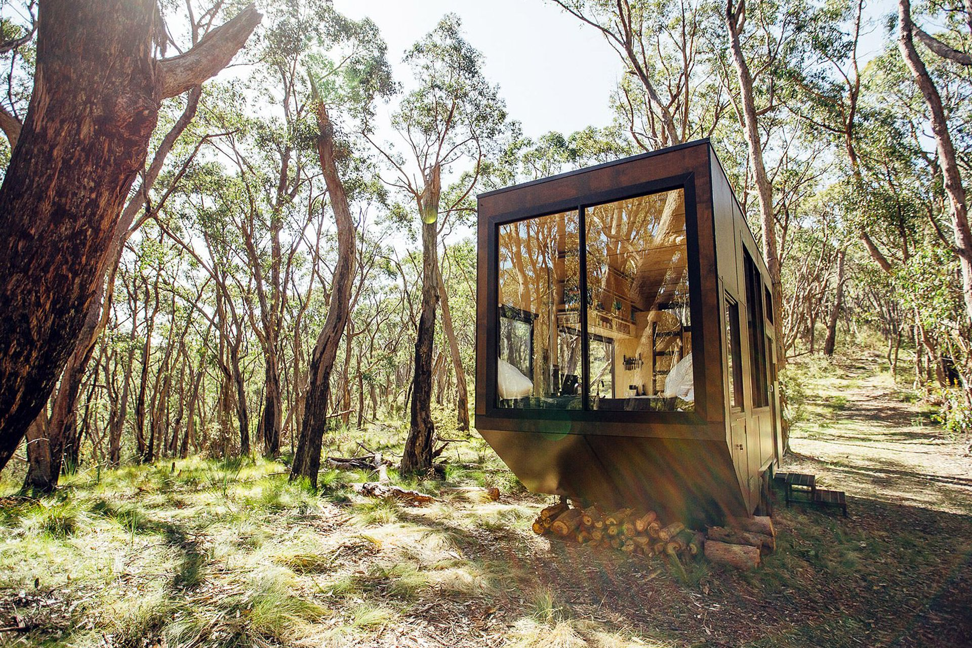 Cabn Adelaide Hills Cabin Off Grid Tiny House Tiny