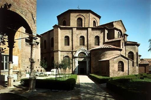 Church Of San Vitale Exterior