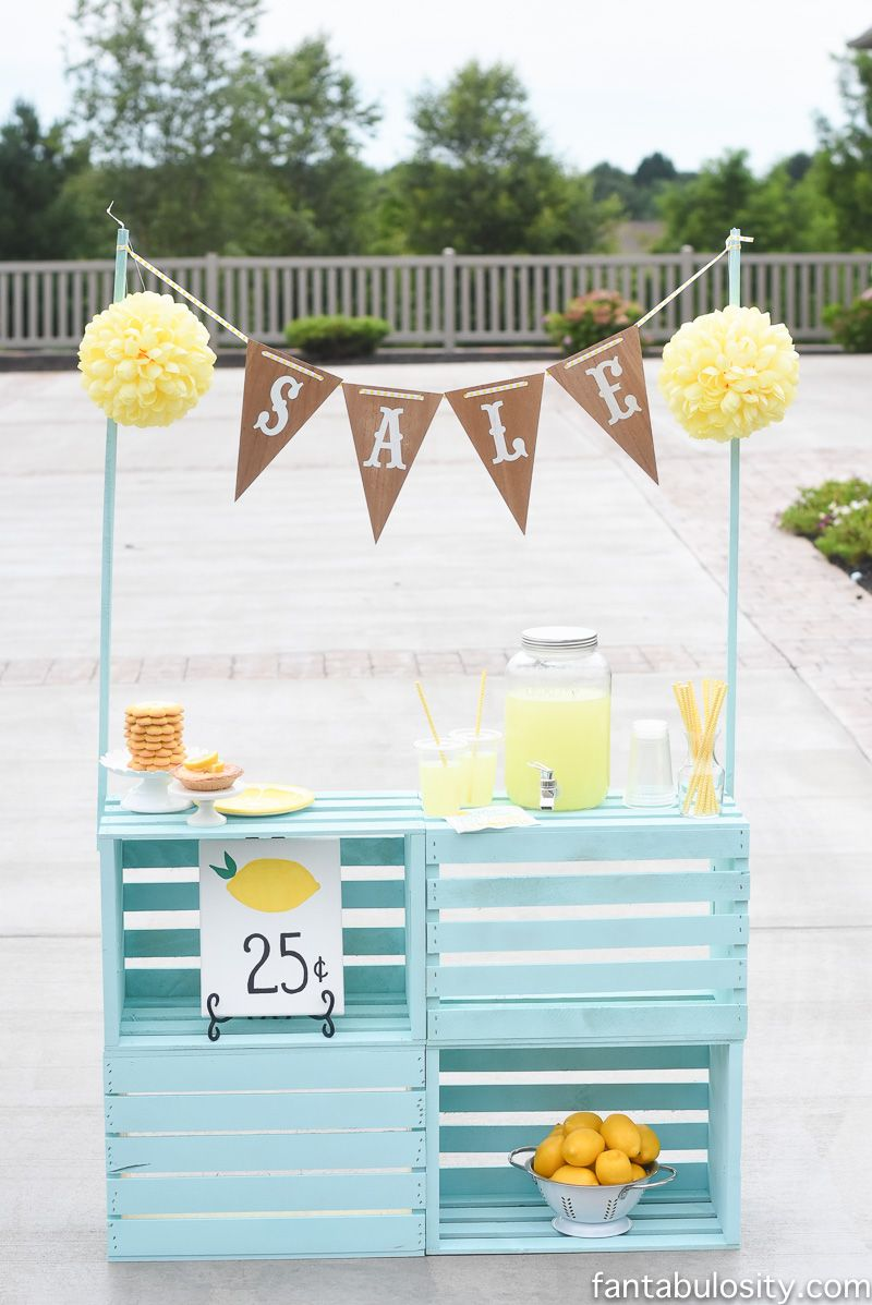 25 Effortless DIY Lemonade Stand Ideas Making Your Summer