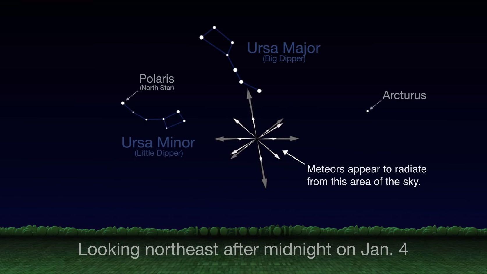 Meteor shower to light up skies - British Columbia - CBC News  |Meteor Shower Calendar 2013 North America