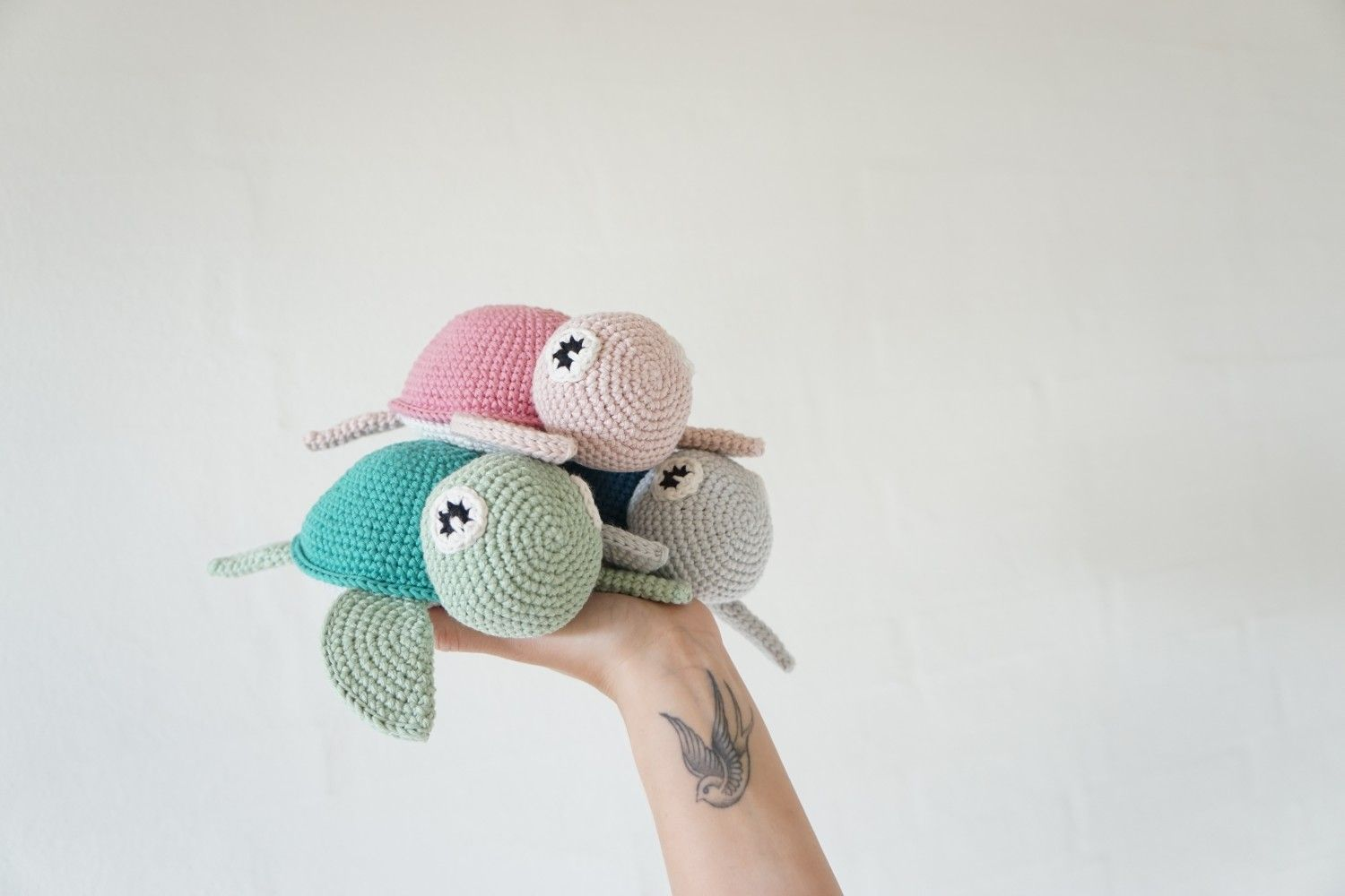 Turtle | Vibemai #crochetturtles