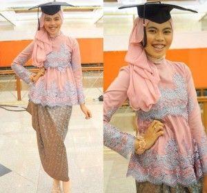 Model Kebaya Wisuda Modern Dan Mewah Kebaya Kebaya Hijab Model