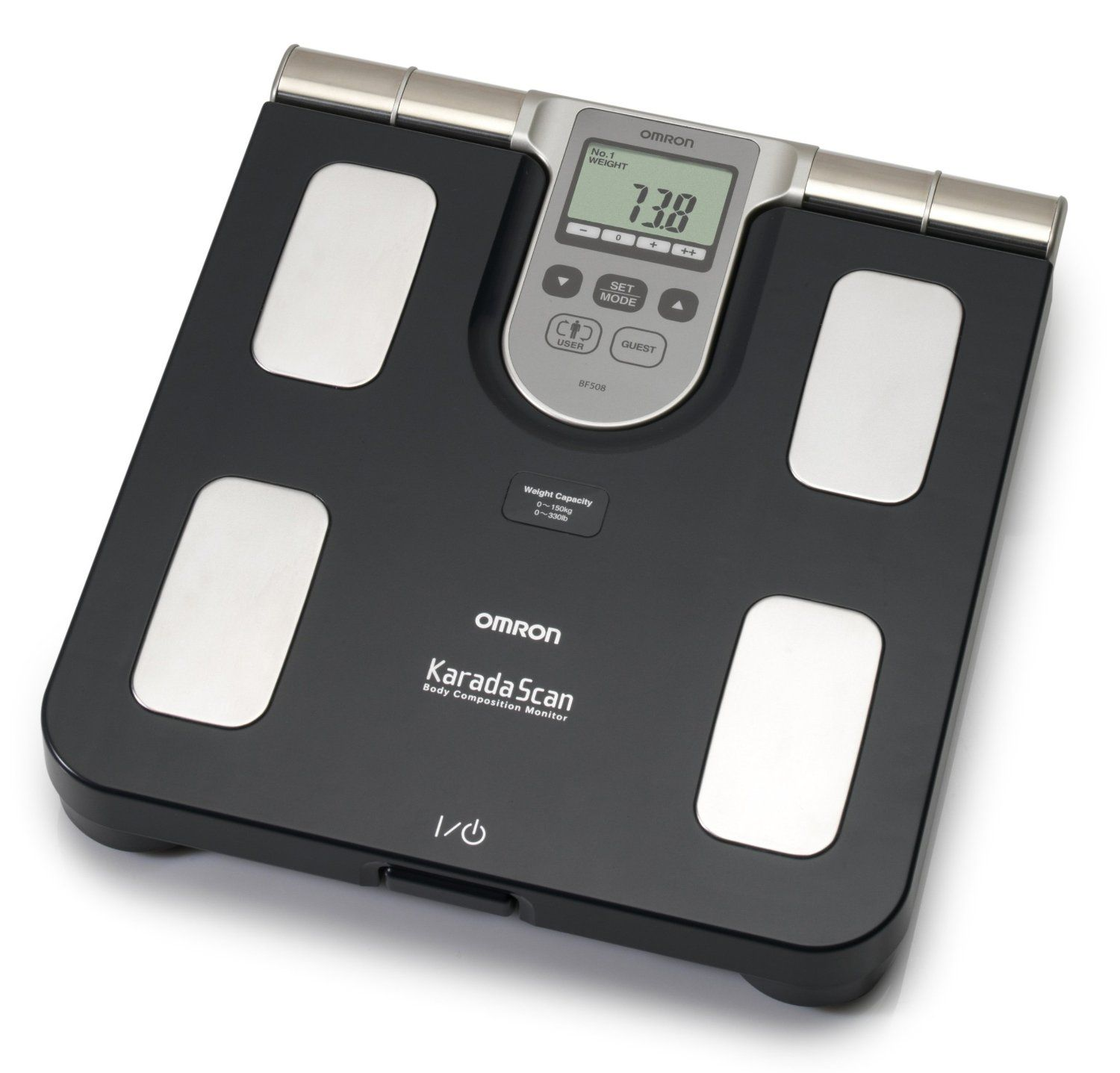Superbe Omron Body Composition And Body Fat Monitor Bathroom Scale Scales NEW !