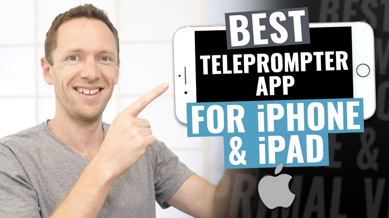 Looking for the BEST Teleprompter App for iPad and iPhone