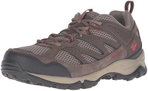 7dfad1be9a9 Columbia Womens Plains Ridge WMNS Low Hiking Shoes PebbleBurnt Henna ...
