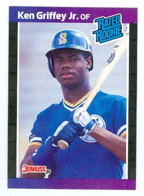 Ken Griffey Jr Rookie Card Ken Griffey Jr Baseball Card