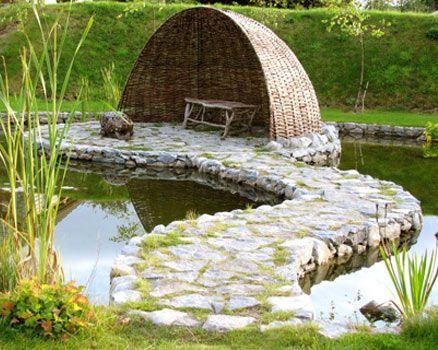 Brigit's Garden Galway Ireland - Celtic Gardens Ireland ...