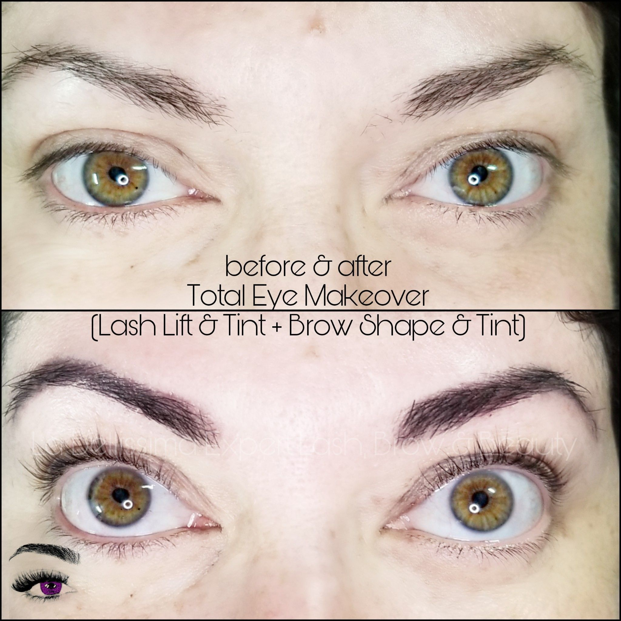 Hey! A good, oldfashioned Total Eye Makeover! This is a