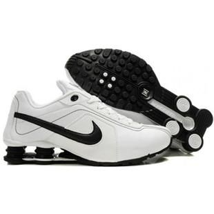 White Blue Nike With Shox Conundrum