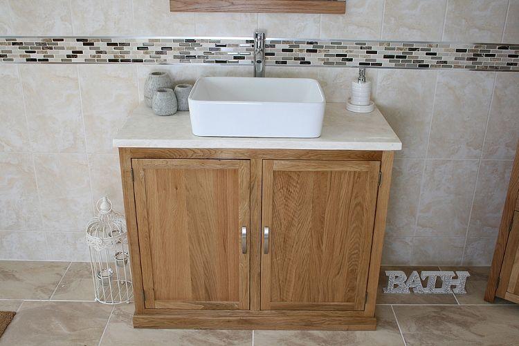 Bathroom Vanity Unit   Solid Oak   Bathroom And More Store   Natural    Bathroom Ideas