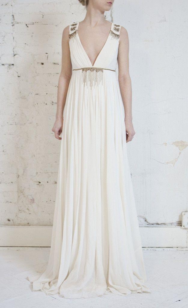 Silk Grecian Dress #greek #style #dress #grecian Wedding Inspiration ...