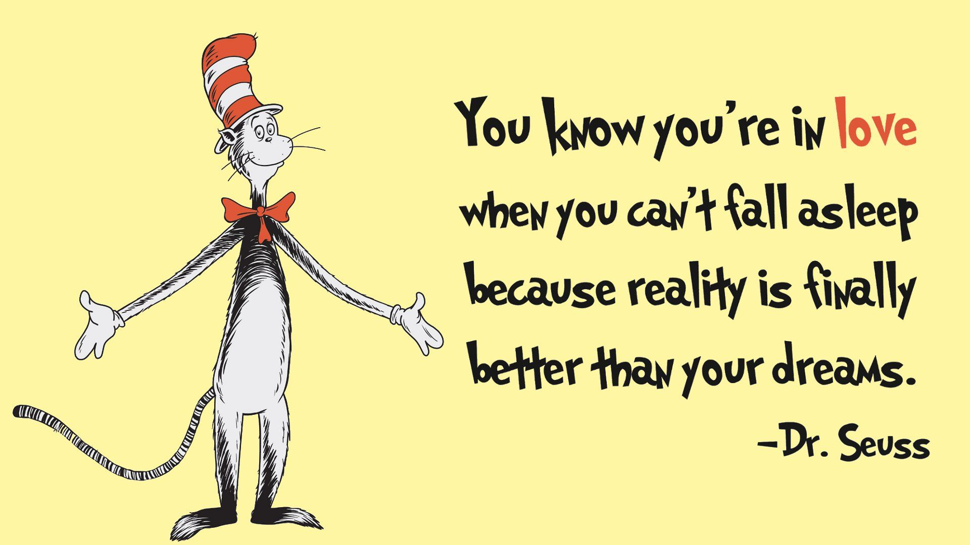 You Know You Re In Love Dr Seuss Quotes Seuss Quotes Wedding Quotes Funny