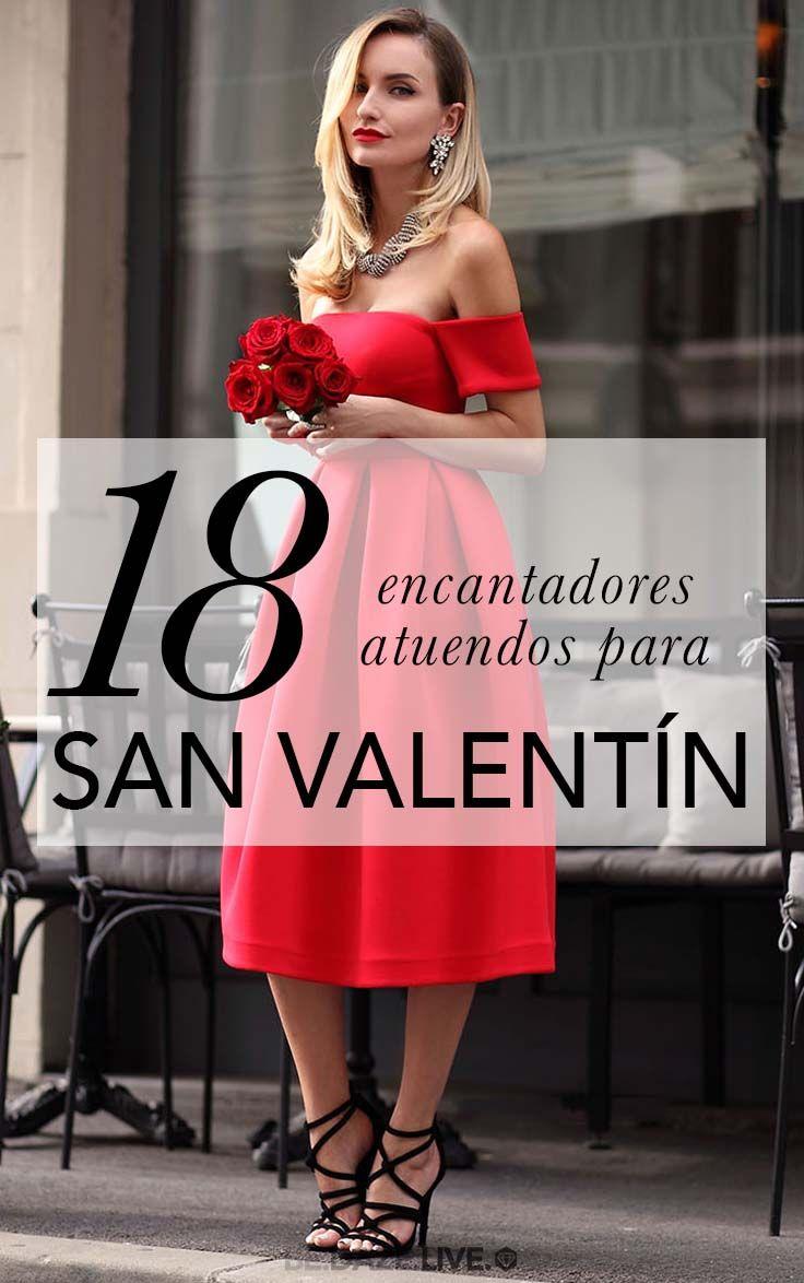 18 Lindos Atuendos Para San Valentín | Be Daze Live - cómo vestir ...