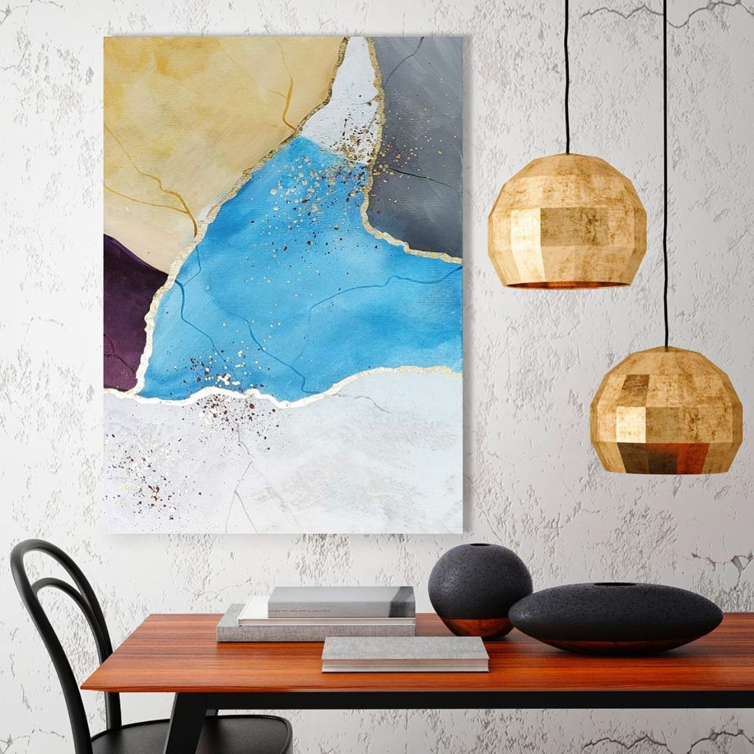 "WILD BRUSH Art on Instagram: ""Artwork name: Breath of the nice sky 🕊 . #wildbrushart . #abstract #acrylicpainting #paintingoftheday #wallartdecor #arte #painting…"""
