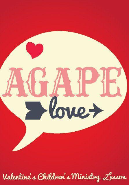 agape love valentines day childrens ministry lesson children ministryschool lessonssunday - Valentine Sunday School Lesson