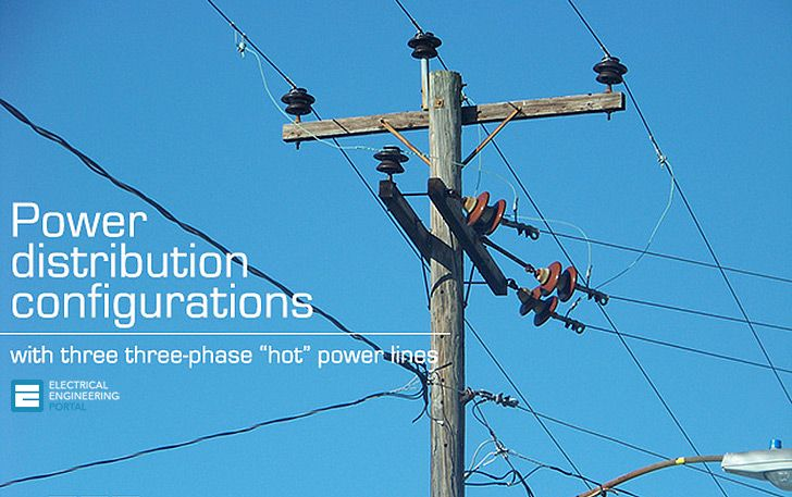 Power Distribution Configurations With Three 3ph Power Lines Eep Power Distribution Configuration