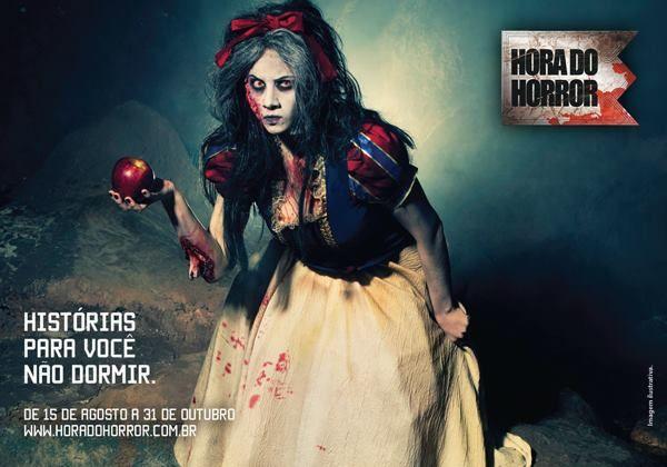 Até o dia 31 de outubro, está acontecendo a Hora do Horror no Hopi Hari. Confira o postal!